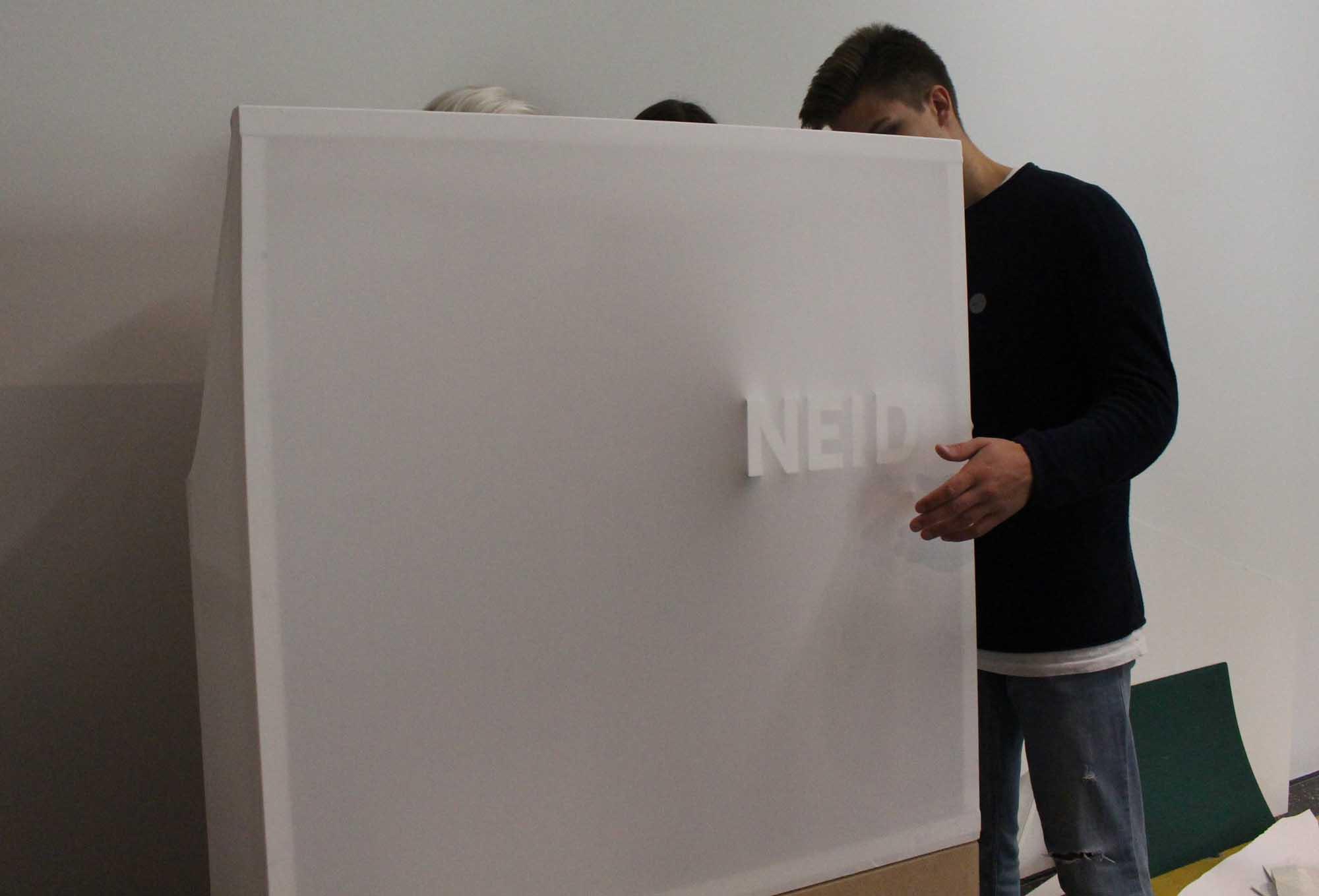 Sneak-Preview-Aufbau
